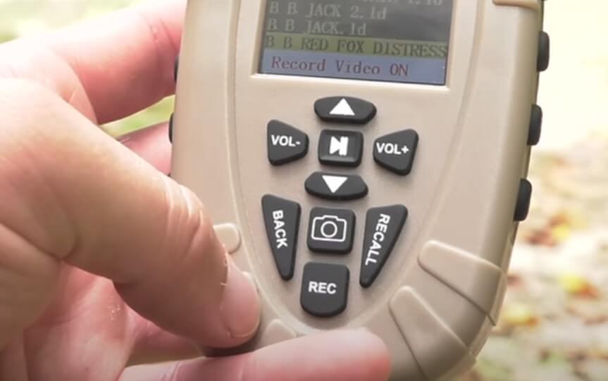 Lucky Duck Revolution Romote Controller buttons